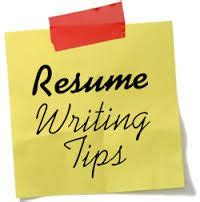 Young professional resume tips